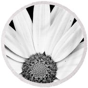 Colorless Round Beach Towel