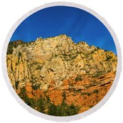 Colors Of The Southwest Round Beach Towel