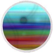 Colour27mlv - Impressions Round Beach Towel