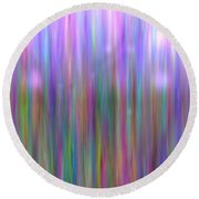 Colour7mlv - Impressions Round Beach Towel
