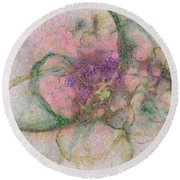 Colouristic Speculation  Id 16099-061949-68480 Round Beach Towel