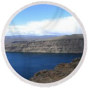 Columbia River Round Beach Towel