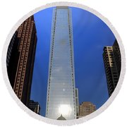 Comcast Center - Philadelphia Round Beach Towel