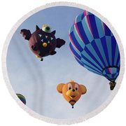 Come Together Round Beach Towel