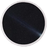 Comet Lovejoy Round Beach Towel