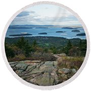 Coming And Going Round Beach Towel