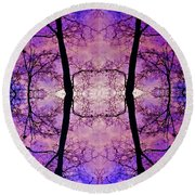Coming Together Round Beach Towel