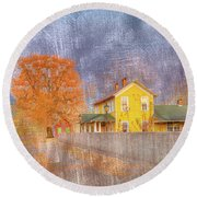 Commerce Mo Round Beach Towel