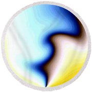 Conceptual 7 Round Beach Towel