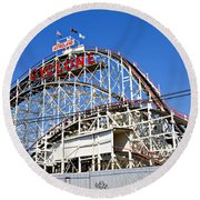 Coney Island Memories 2 Round Beach Towel