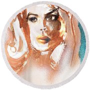 Conjure Round Beach Towel
