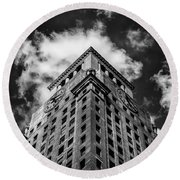 Consolidated Edison Building Round Beach Towel