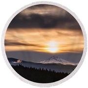 Contact Round Beach Towel