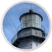 Control Tower Round Beach Towel