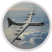 Convair Rb-36f Peacemaker Round Beach Towel