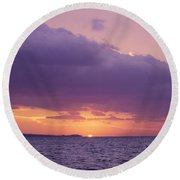 Cool Climate Round Beach Towel