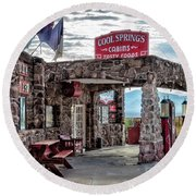 Cool Springs Az Round Beach Towel