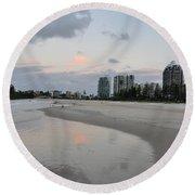 Coolangatta Reflections Round Beach Towel