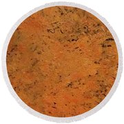 'cooling Lava' Round Beach Towel