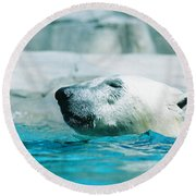 Cooling Off Round Beach Towel