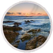 Coolum Dawn Round Beach Towel