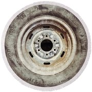 Cooper Discoverer Radial Lt Tire Round Beach Towel