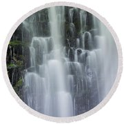 Coopey Falls Round Beach Towel