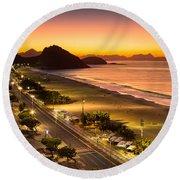 Copacabana Round Beach Towel