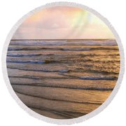 Copper Shores Round Beach Towel