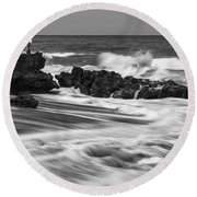 Coral Cove Park 0594 Round Beach Towel