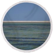 Core Banks Horizon Round Beach Towel