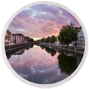 Cork, Ireland Round Beach Towel