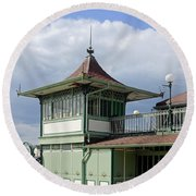 Corner Detail Of The Pavilion - Ryde Round Beach Towel