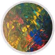Corot 7b  Round Beach Towel