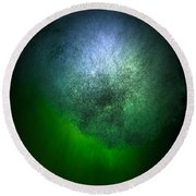 Cosmic Cloud Round Beach Towel