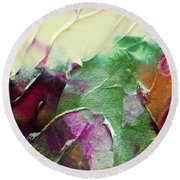 Cosmic Pearl Dust Round Beach Towel