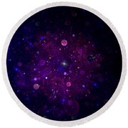 Cosmic Wonders Round Beach Towel