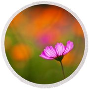 Cosmo Pastels Round Beach Towel