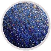 Cosmos Artography 560084 Round Beach Towel