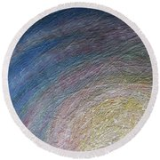 Cosmos Artography 560086 Round Beach Towel