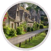 Cotswolds Homes Round Beach Towel