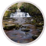 Cotter Force Round Beach Towel