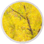 Cottonwood Colors  Round Beach Towel