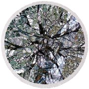 Cottonwood Montage Round Beach Towel