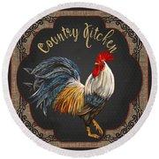 Country Kitchen-jp3764 Round Beach Towel