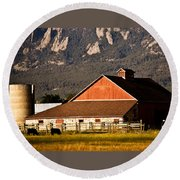 Country Living Boulder County Round Beach Towel