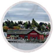 Coupeville Delight Round Beach Towel