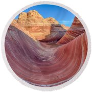Coyote Buttes 3 Round Beach Towel