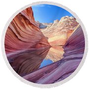 Coyote Buttes 5 Round Beach Towel