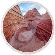 Coyote Buttes 6 Round Beach Towel